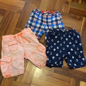Baby boy shorts pack